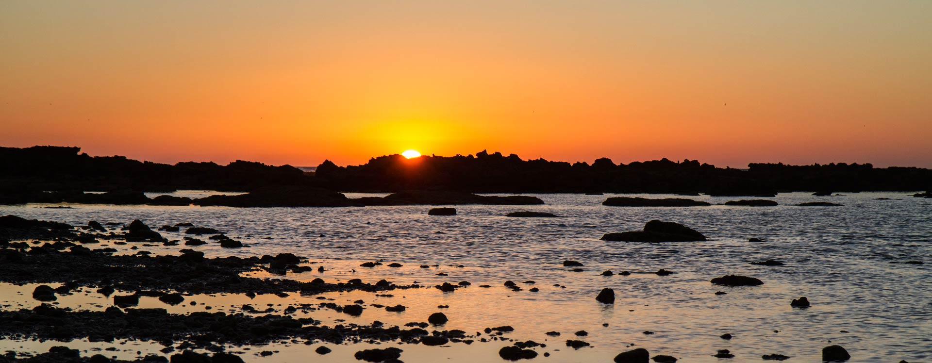 Amanecer y puesta de sol en el Castillo Sancti Petri